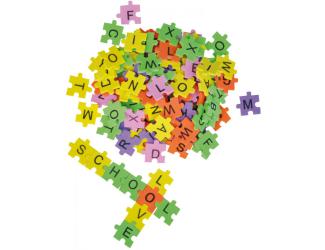 Pěnové puzzle Abeceda