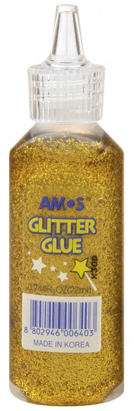Glitrové lepidlo 22 ml zlaté