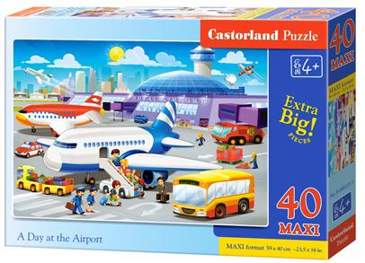 Puzzle Castorland MAXI 40 dílků - Letiště