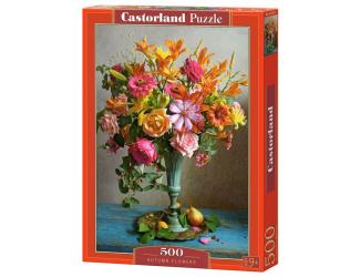 Puzzle Castorland 500 dílků -  Podzimní květiny