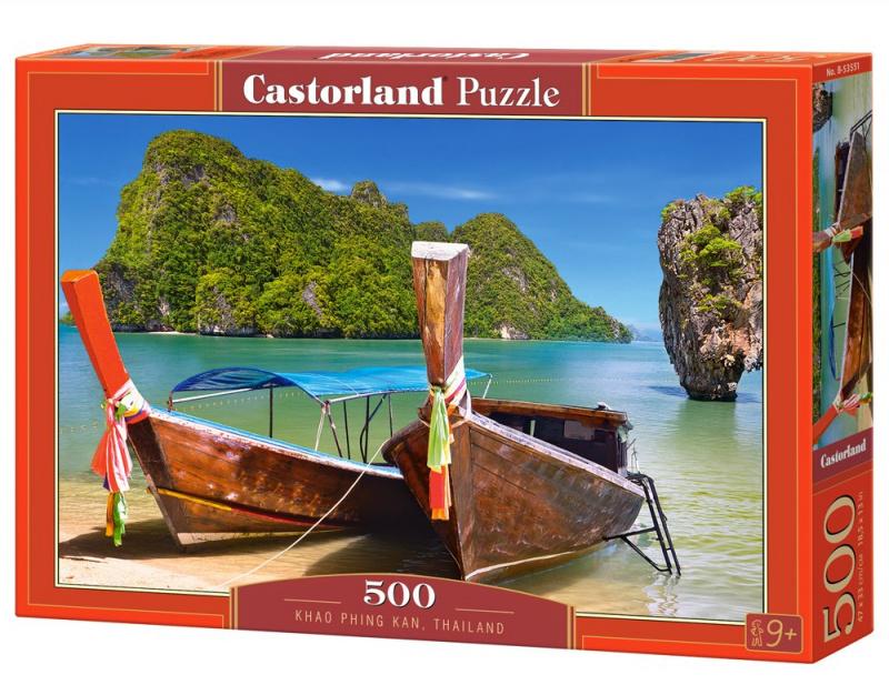 Puzzle Castorland 500 dílků - Khao Phing Kan, Thailand