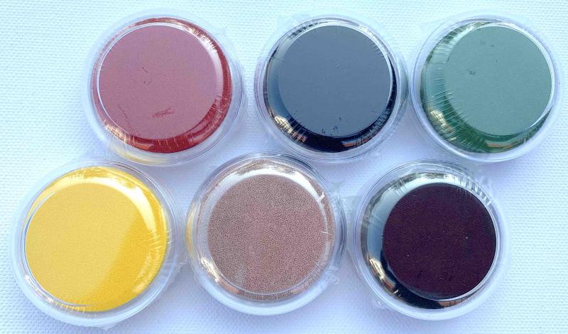 Polštářek pro razítkování Macaron - Podzimní barvy 6 ks