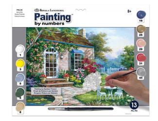 Malování podle čísel- Okrasná terasa