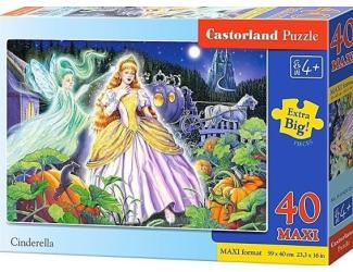 Puzzle Castorland MAXI 40 dílků - Popelka