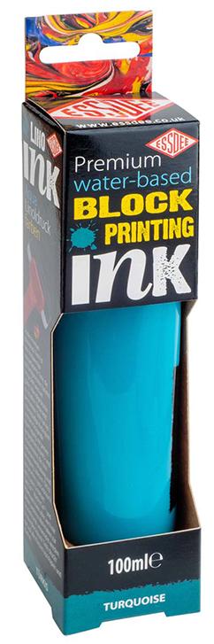 Barva na linoryt 100 ml - tyrkysová