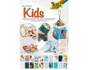 """Blok - motiv,, Kids"""" , 20 listů 270 g/m2"""