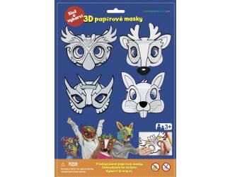 Karnevalové masky - Sova, jelen, králíček, superhrdina