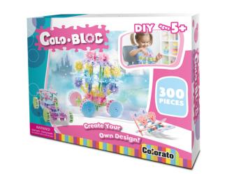 Stavebnice ColoBloc (300 ks) - dívčí