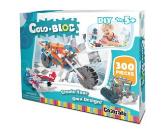 Stavebnice ColoBloc (300 ks) - chlapecká