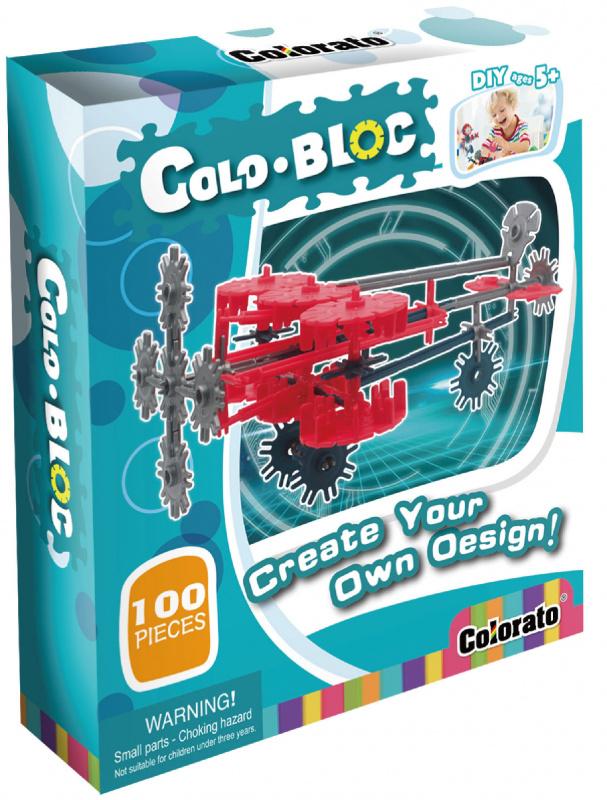 Stavebnice ColoBloc (100 ks)