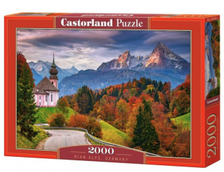 Puzzle Castorland 2000 dílků - Podzim v Bavorsku