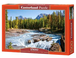 Puzzle Castorland 1500 dílků - Athabasca River, Jasper National Park, Canada