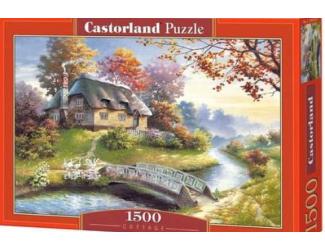 Puzzle Castorland 1500 dílků - Chaloupka