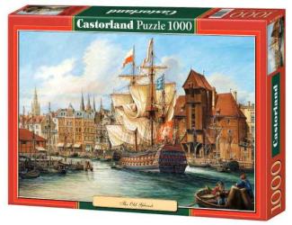Puzzle Castorland 1000 dílků - Starý Gdaňsk