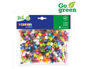 Zažehlovací korálky XL- 500 ks Go Green