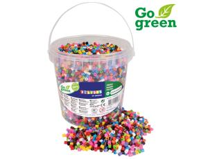 Zažehlovací korálky 5000 ks, kbelík Go Green