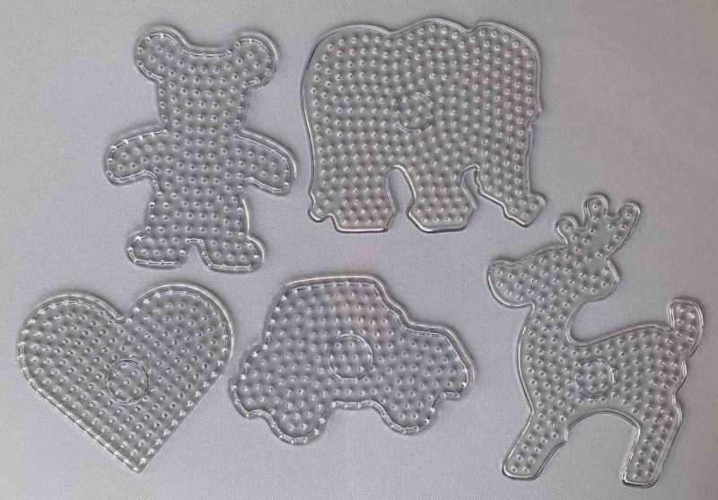 Destičky XL pro zažehlovací korálky 5 ks