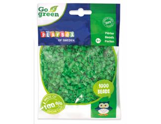 Zažehlovací korálky 1000ks zelené Go Green