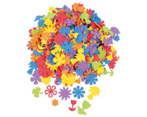 Pěnové květiny - 425 ks