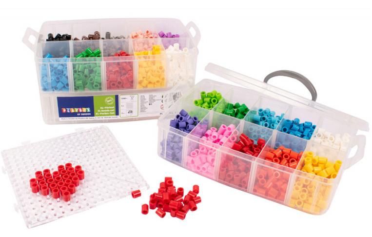 Zažehlovací korálky XL - 1500 ks - box