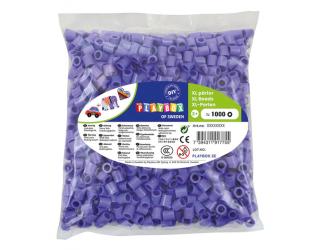 Korálky zažehlovací velké- maxi XL 1000 ks - fialové