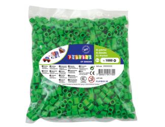 Korálky zažehlovací velké- maxi XL 1000 ks - zelené