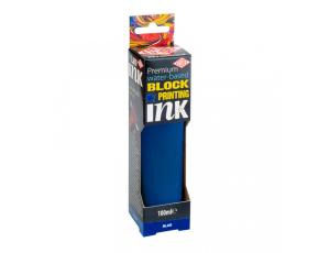 Barva na linoryt 100 ml - Modrá