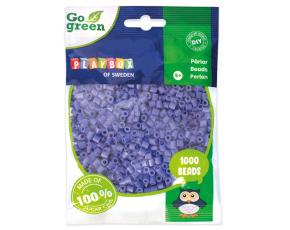 Zažehlovací korálky 1000ks fialové Go Green