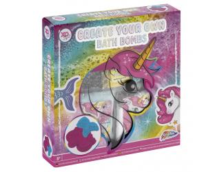 Vyrob si koupelové bomby - unicorn
