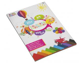 Barevný papír A4 300g/m2 - 20 listů