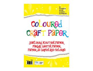 Barevné papíy A4 - 100 listů