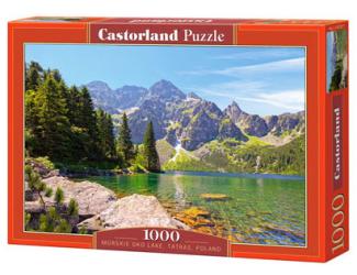 Puzzle Castorland 1000 dílků - Tatry Mořské pleso