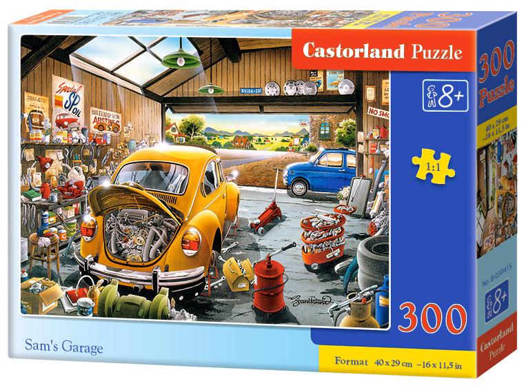 Puzzle 300 dílků- Samova garáž