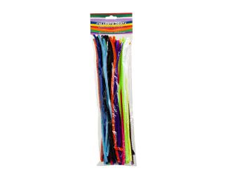 Chlupaté dráty - 50 ks, 6 mm x 30 cm