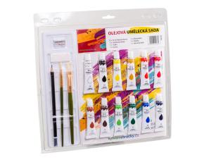 Olejové barvy - umělecká sada 12x12 ml