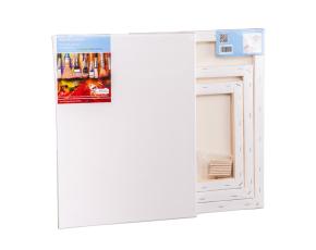 Malířská plátna 3 ks, 18x24, 24x30, 30x40 cm s gramáží 380 g/m2, 100% bavlna, 3 x šepsováno