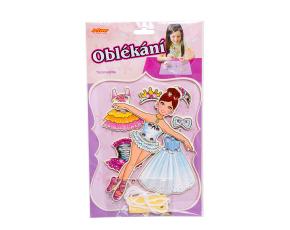 Oblékání- panenka baletka