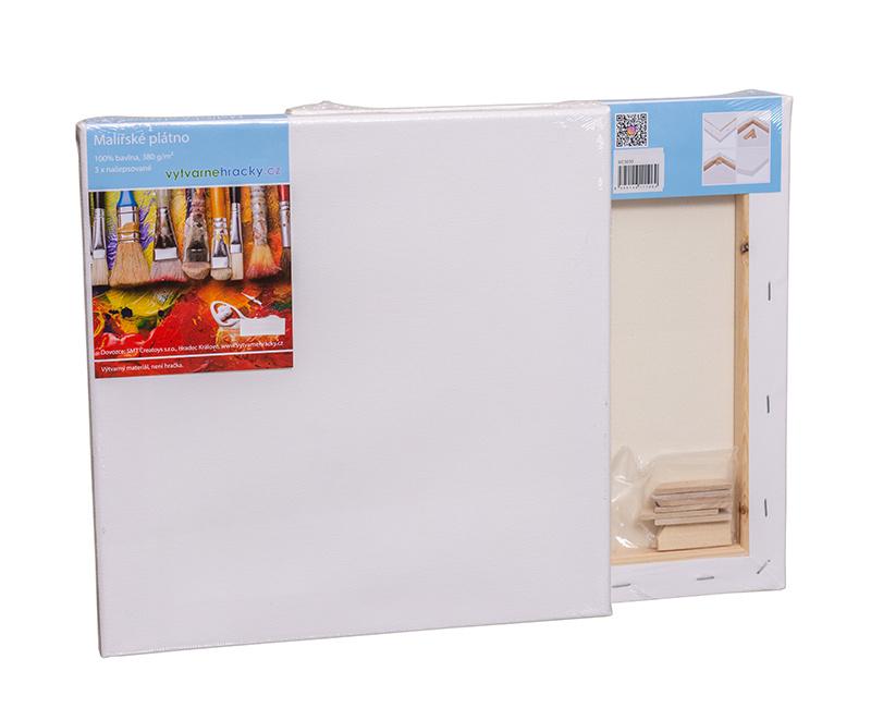 Malířské plátno 30x30 cm, 380 g/m2