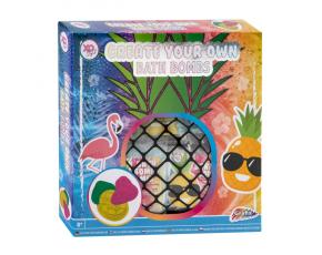 Vyrob si koupelové bomby - ananas