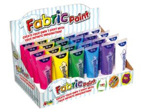 Barvy na textil 24x30ml box