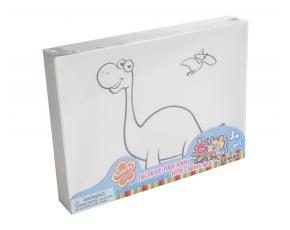 Malování na plátno 20x15x3cm Dino