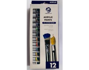 Akrylové barvy 12x12 ml