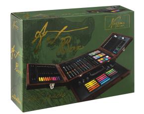 Art box, 103 ks v dřevěném boxu