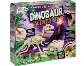 Kreativní sada Dinosaurus 2v1