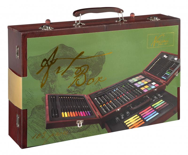 Art box, 103 ks v boxu dřevěném