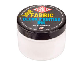 Barva na linoryt TEXTILNÍ 150 ml - bílá