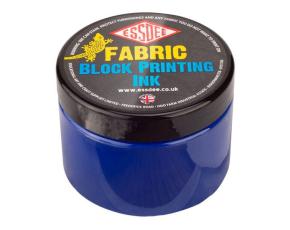 Barva na linoryt TEXTILNÍ 150 ml - modrá