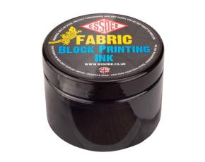 Barva na linoryt TEXTILNÍ 150 ml - černá