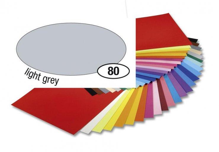Barevný papír 130g A4- Šedý světlý