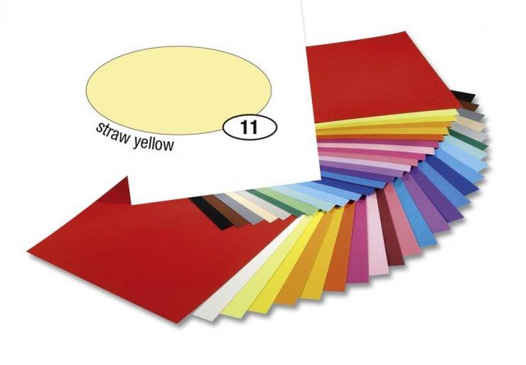 Barevný papír 300g A4- Žlutý světlý